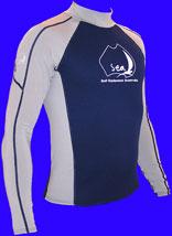 SEA - Neo Lycra Shirt - langarm