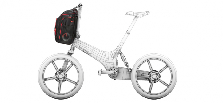Gocycle G3 - Fronttasche