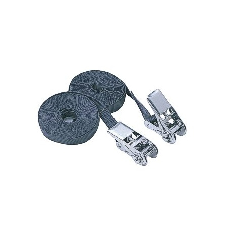 5 m x 25 mm transport strap single - stanless steel - 2 pieces (Set)