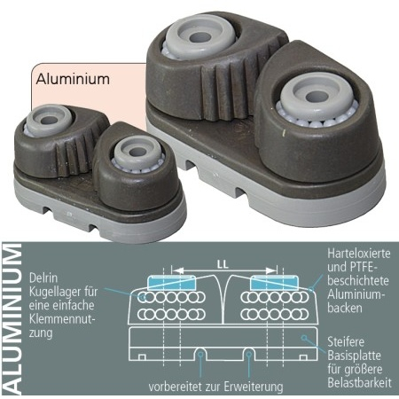 Holt Allen - kugelgelagerte Klemme Aluminium - medium