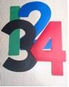 Segelnummer - Zahl 5