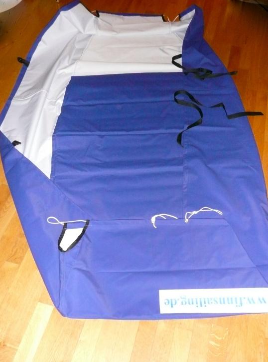 Optimist Unterpersenning mit Schaum gepolstert - PVC 350 blau