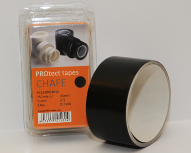 PROtect tapes - Chafe black 250 µm x 51 mm x 3 m