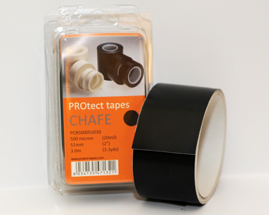 PROtect tapes - Chafe black 500 µm x 51 mm x 3 m