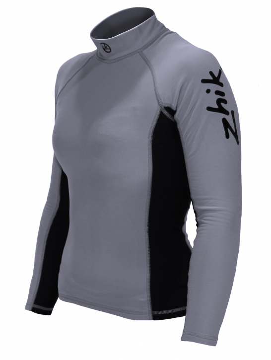 Zhik Damen Hydrophobic Spandex Fleece Top
