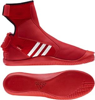 adipower hiking boot - red size 8,5 UK