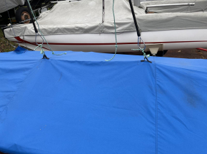 Contender Oberpersenning - Polycotton blau